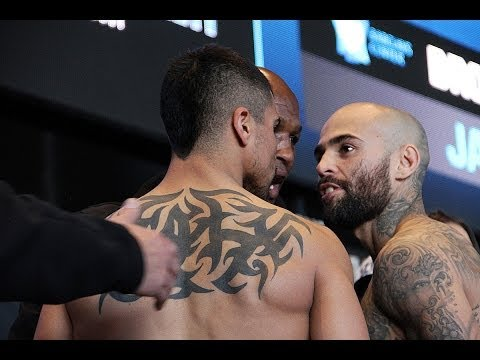 Super Brawl: Victor Ortiz VS. Luis Collazo Official Weigh-In from the Barclays Center!