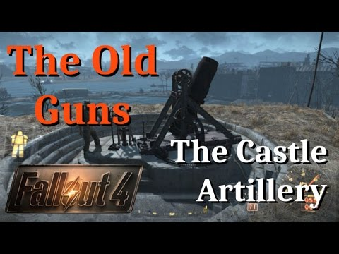 How to get Settlement Artillery, The Old Guns, Minutemen Mission, Fallout 4