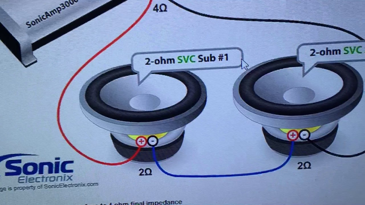 How to    wire    your subs using the    WIRING       DIAGRAMS        YouTube