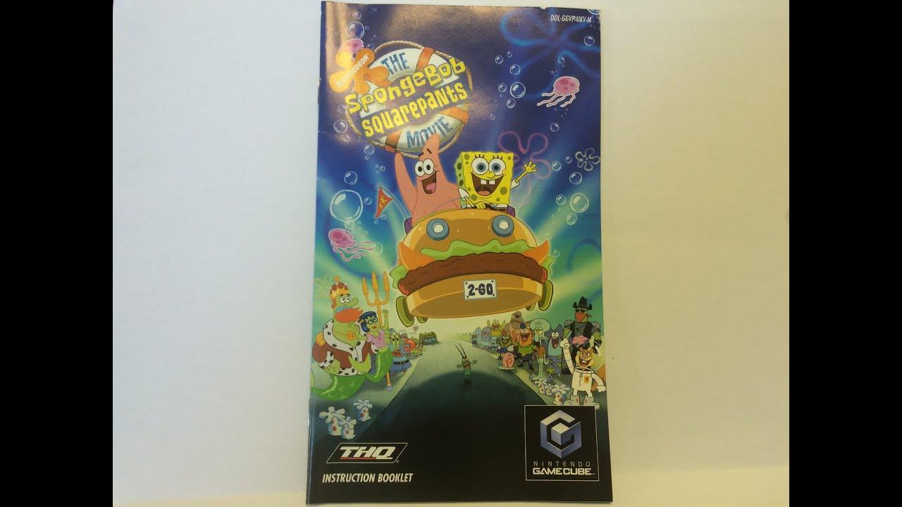 video game instructions gamecube the spongebob squarepants movie rh youtube com Nintendo Wii Nintendo DS