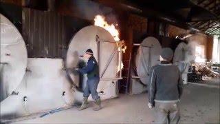 Производство древесного угля. Углевыжигательная печь УМТ 2М