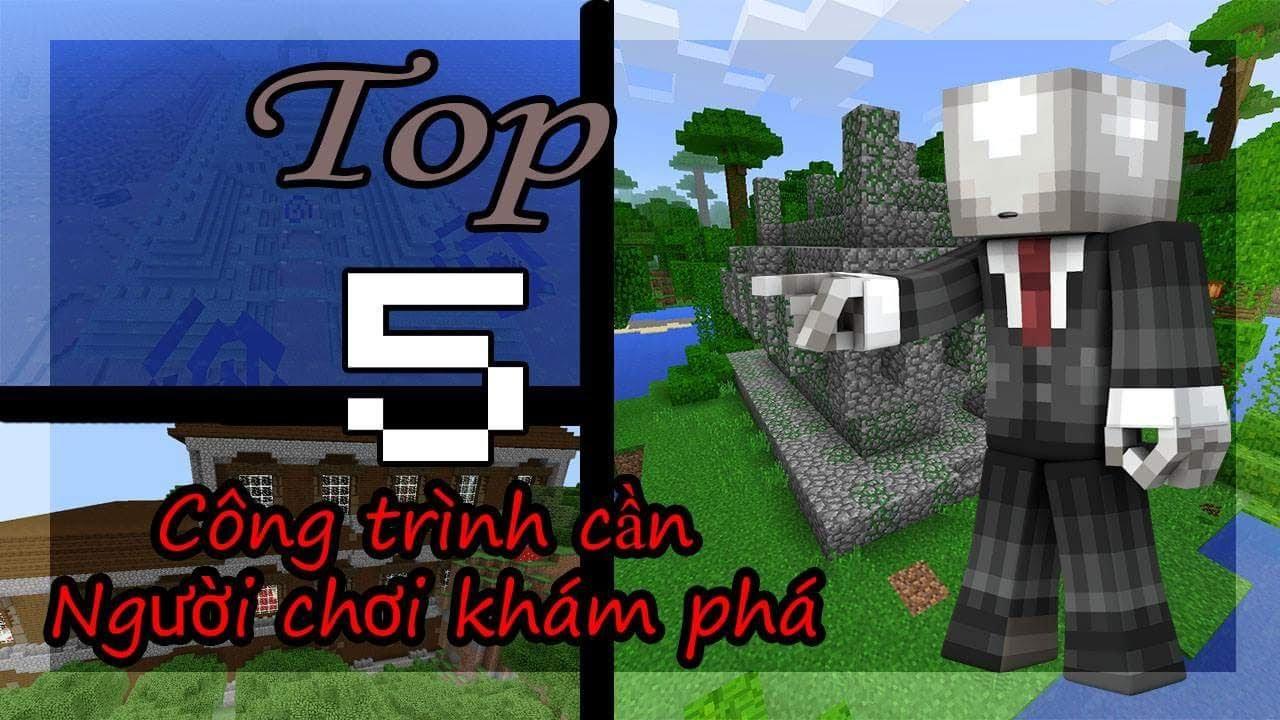 5 CÔNG TRÌNH BÍ ẨN CẦN NGƯỜI CHƠI KHÁM PHÁ TRONG MINECRAFT PE | Minecraft PE 1.1.2