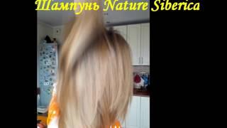 Облепиховый шампунь и бальзам Nature Siberica с эффектом ламинирования