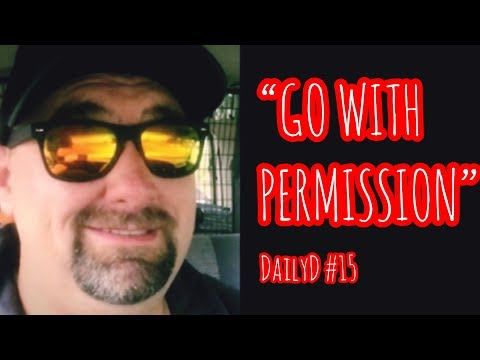 """DailyD #15 """"Go with permission"""""""