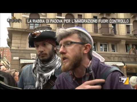 Padova accoglie la gabbia youtube for Youtube la gabbia