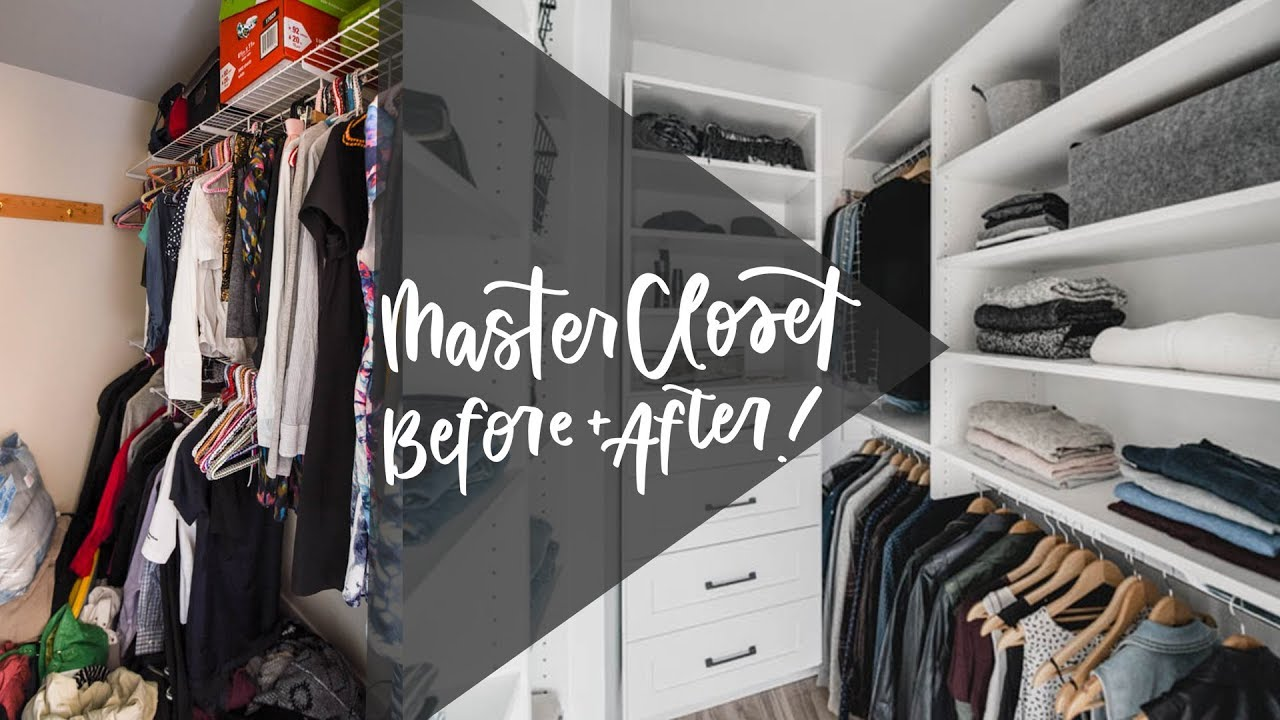 How To Organize Your Closet Small