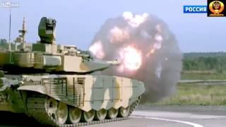 Tank Porn -   Flying Т-90МС in Action [HD]