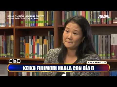 Exclusivo: Las respuestas de Keiko Fujimori