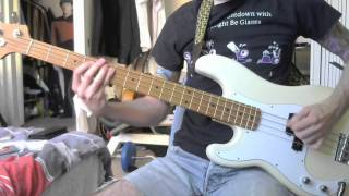 The Hives - Dead Quote Olympics (bass cover)