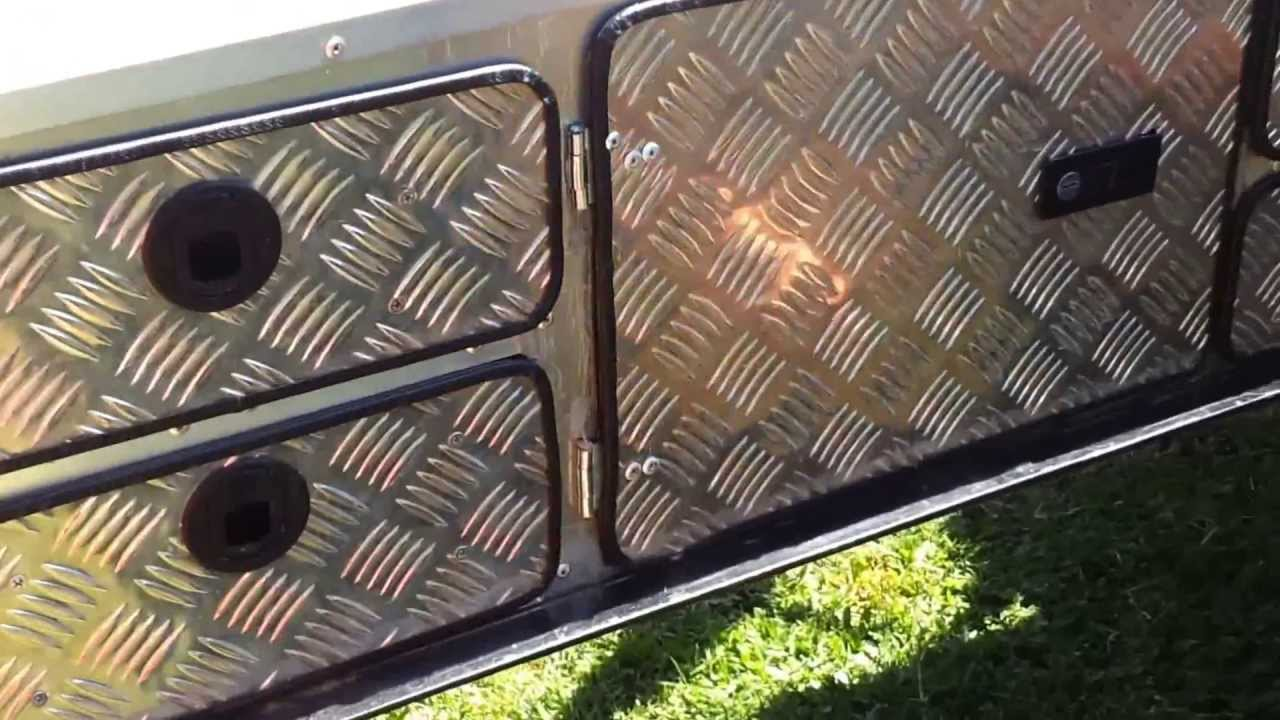 How to build a camper trailer kitchen part 1 of 2.mp4 ...