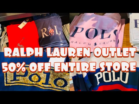 RALPH LAUREN OUTLET /SHOP WITH ME / POLO RL