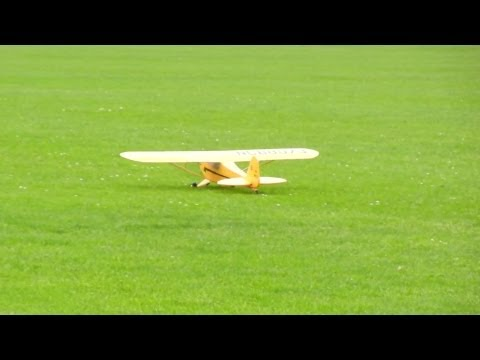 1400mm Piper J3 Cub more Flights + onboard cam