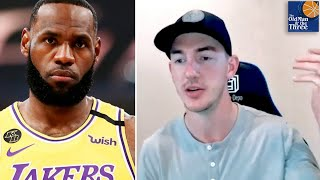 """""""This Dude's Gotta Be The Best Basketball Player To Ever Play"""" - Alex Caruso on LeBron's GOAT Status"""