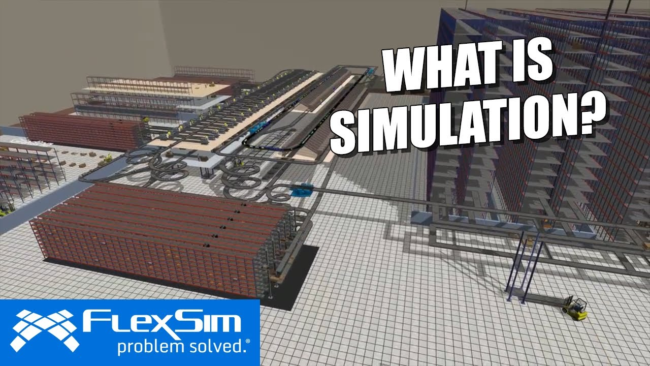 Simulation software for manufacturing, material handling, healthcare