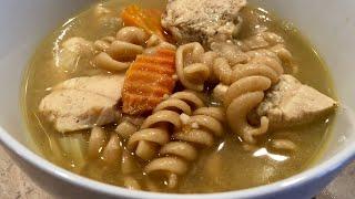 Chicken Noodle Soup Instant Pot - 3 SmartPoints