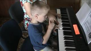 Уроки игры на фортепиано с детьми 4 лет
