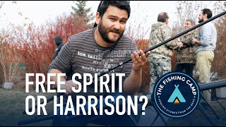 FREE SPIRIT or HARRISON - I need to choose my next rod!