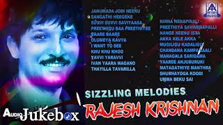 Sizzling Meldoies Rajesh Krishnan | Best Selected Songs Of Rajesh Krishnan | Kannada Movie Songs