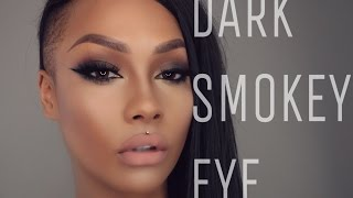 fall dark smokey eye tutorial   sonjdradeluxe