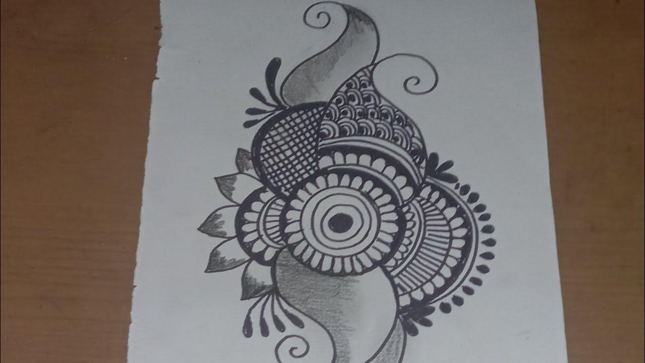 Gambar Untuk motif HENNA ,simpel dan elegan