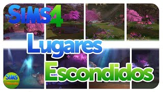 Donde están los lugares ocultos en Los Sims 4! - Tutorial español