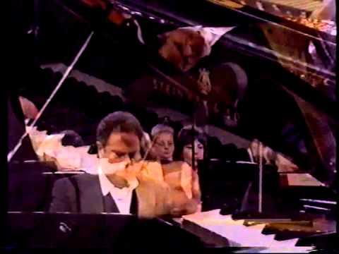 BRAHMS: Piano Concerto #2  Rico Saccani, conductor Jeffrey Siegel, piano