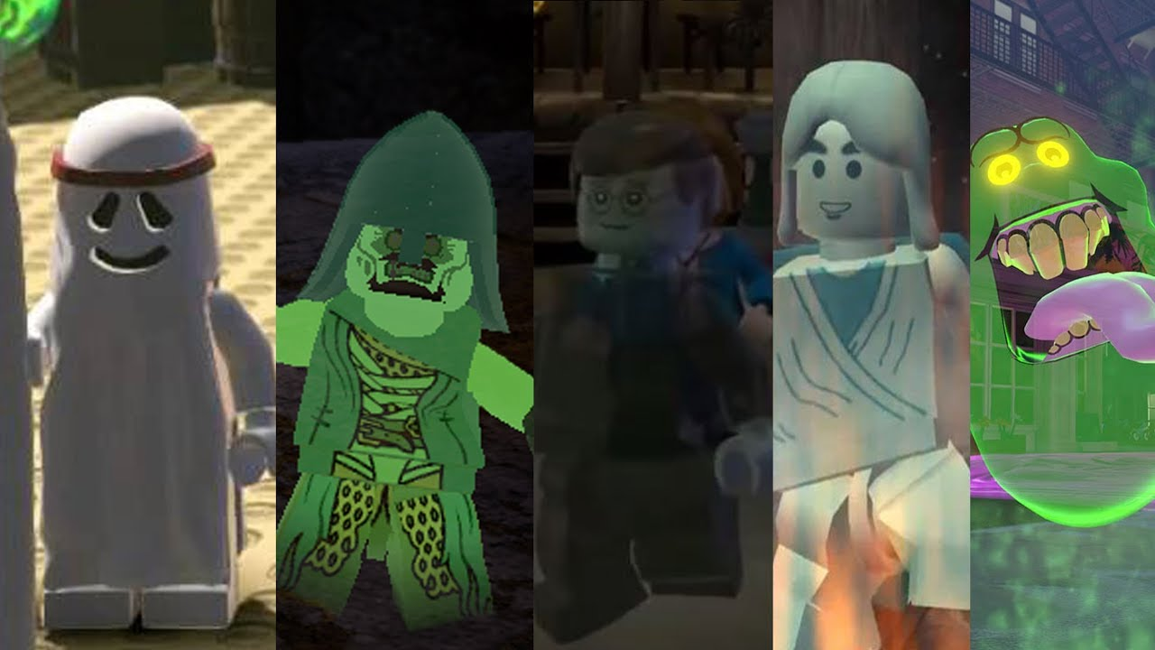 All ghosts in lego videogames youtube - Lego star wars anakin ghost ...