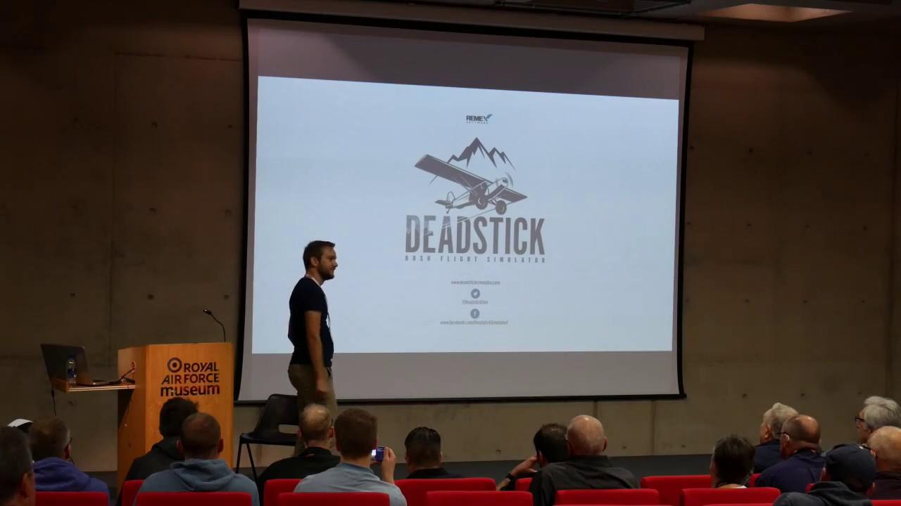 Deadstick Bush Flight Simulator - FlightSim2017 - RAF Cosford
