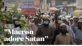 Au Bangladesh, 40 000 manifestants marchent dans Dacca contre Emmanuel Macron
