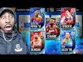 97 OVR PLATINUM MASTERS IN CRAZY PLAYOFF PACK OPENING  NBA Live Mobile 18 Gameplay Ep  46