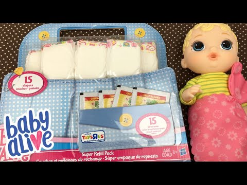 Unboxing Baby Alive Doll Super Refill Pack From Toys R Us