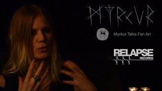 MYRKUR Discusses Fan Art