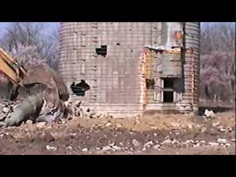 Redneck Silo Tipping