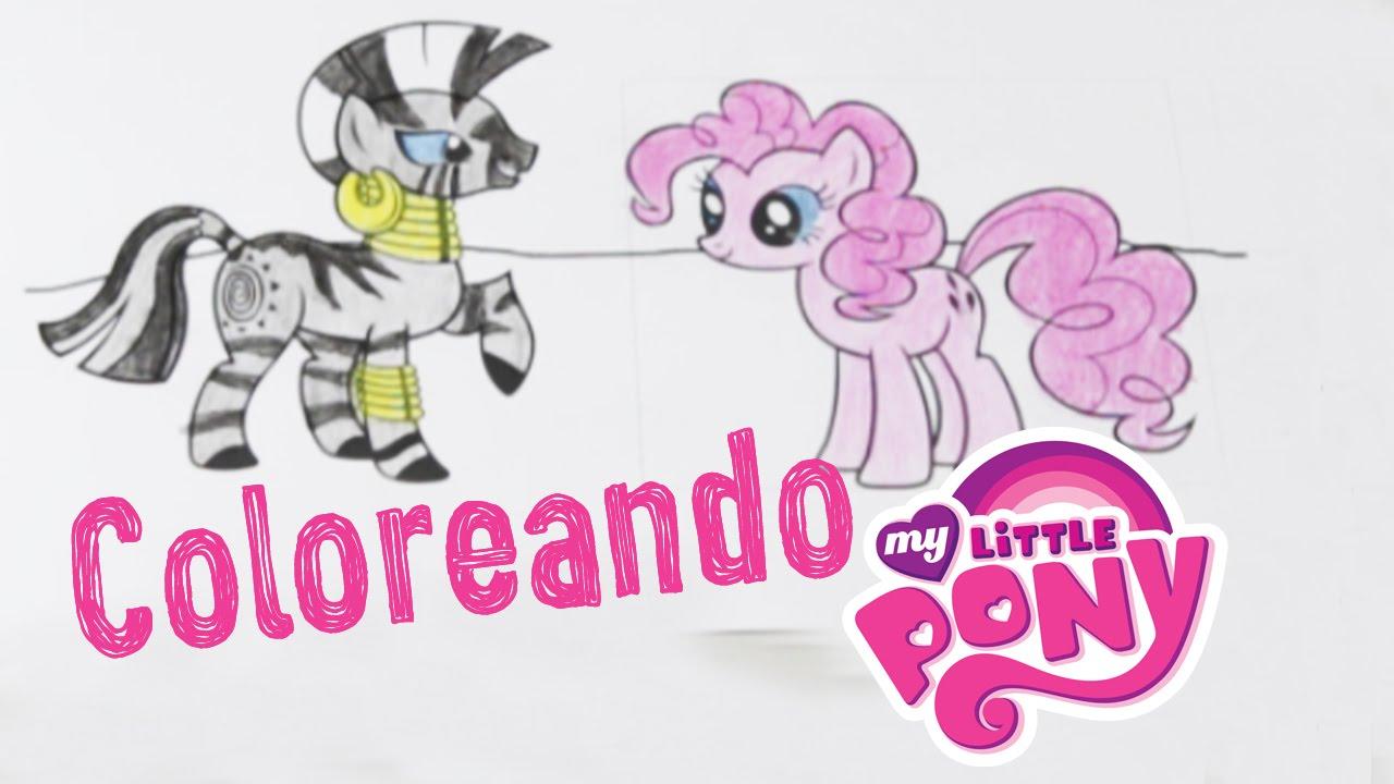 Dibujos para colorear my little pony youtube - Dibujos para sabanitas de bebe ...