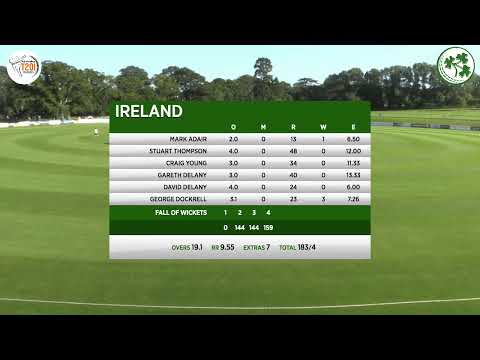LIVE CRICKET - Ireland V Netherlands GS Holdings T20 Tri Series