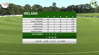 LIVE CRICKET - Ireland v Netherlands GS Holding T20 Tri Series