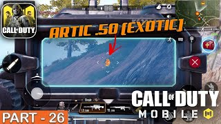 CALL OF DUTY MOBILE - (Artic .50 Exotic Gun) Solo Squad Gameplay - Part 26