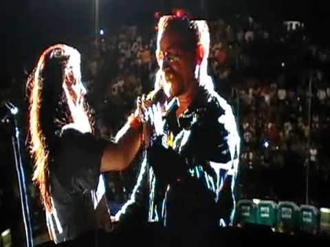 U2 360º TOUR - Happy Birthday Menphis Eve - Party Girl -  (Milão 07 07 09)