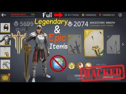 [Tutorial (No Root)] Shadow Fight 3. Hack Full Legion V.I.P Items (Legendaries + Epics + Currencies)