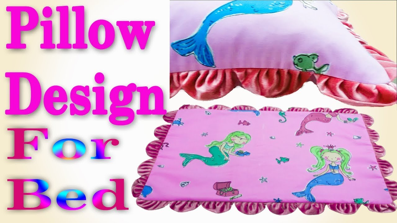 how to make design pillow cover new pillow design for bed