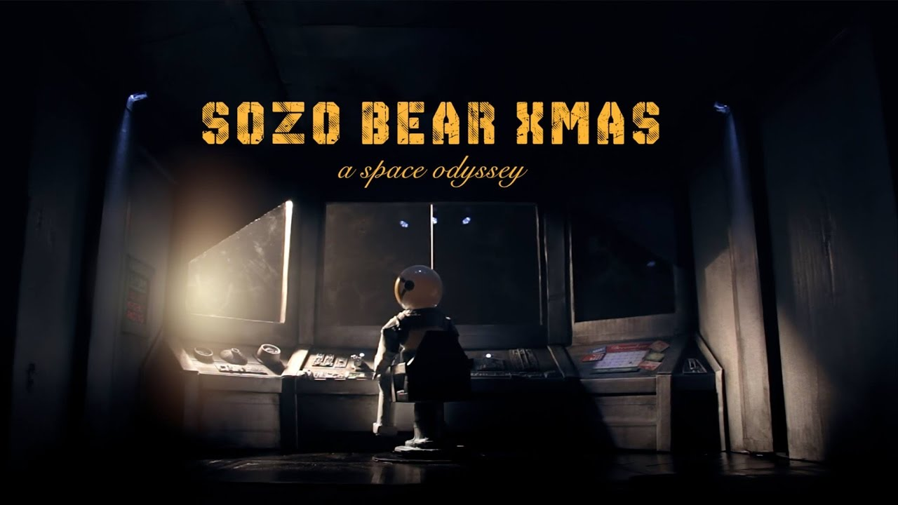 Sozo Bear Christmas: A Space Odyssey (Original Short | Sozo Bear Films | 2016)