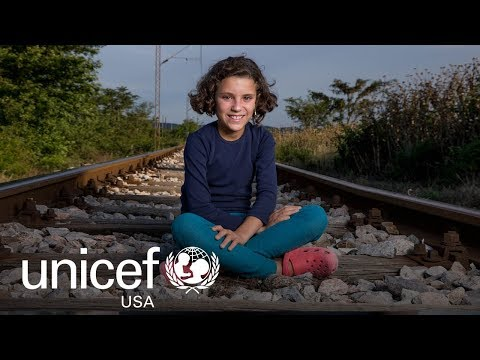 Hiba's Story: Ten-Year-Old Syrian Refugee | UNICEF USA