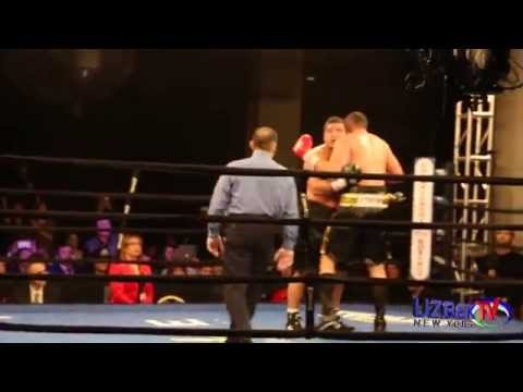 Akhror Muralimov vs Derric Rossy fight & Uzbek fans interview - Uzbek TV New York,Inc