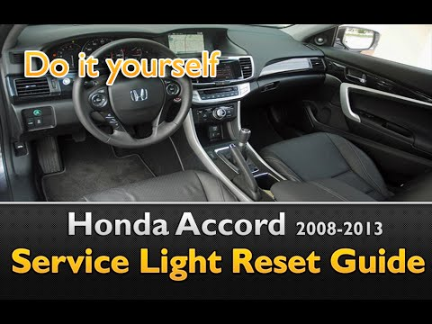 honda accord service light oil life reset youtube. Black Bedroom Furniture Sets. Home Design Ideas