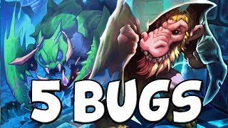 5 Kobolds & Catacombs Bugs