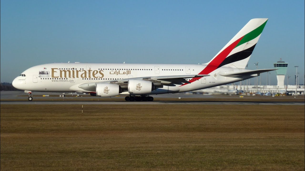 A380 Wallpaper Hd Emirates Airbus A380 800 Takeoff At Munich Airport Full