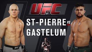 Georges St  Pierre vs Kelvin Gastelum. MMA MASTER! EA SPORTS UFC 3