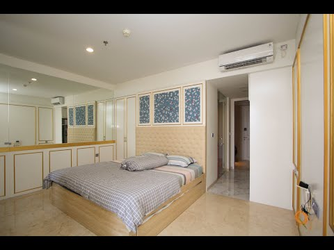 Apartemen Art Deco Luxury Residence & Condotel Type 1 Bedroom With Jacuzzi City View
