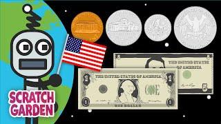 The Money Song   USA Coins & Bills Song   Scratch Garden