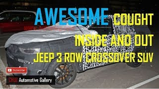 Jeep 3 Row Crossover SUV - Awesome caught Inside And Out